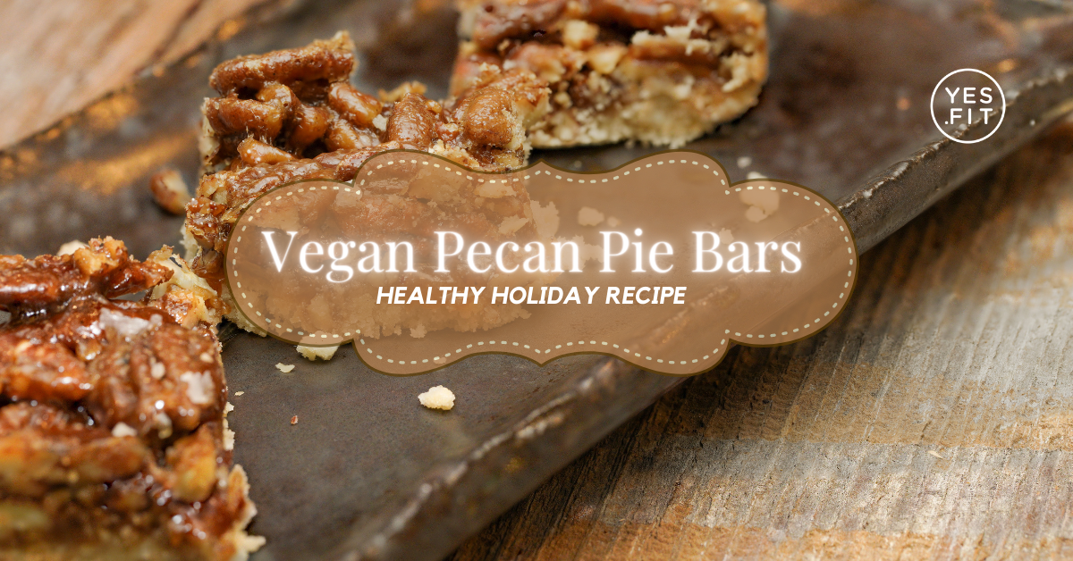Vegan Pecan Pie Bars Blog