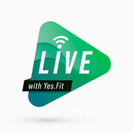 Yes.Fit Podcast Logo