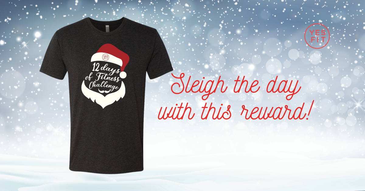 12 days of fitness t-shirt