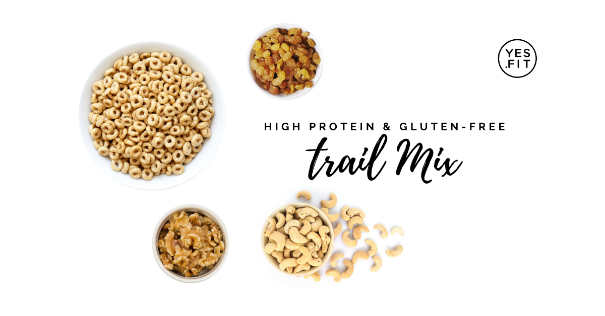 Copy of High protein & gluten-free trail mix
